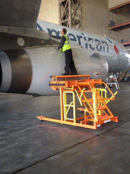 A-320 Wheel Well Stand #50123