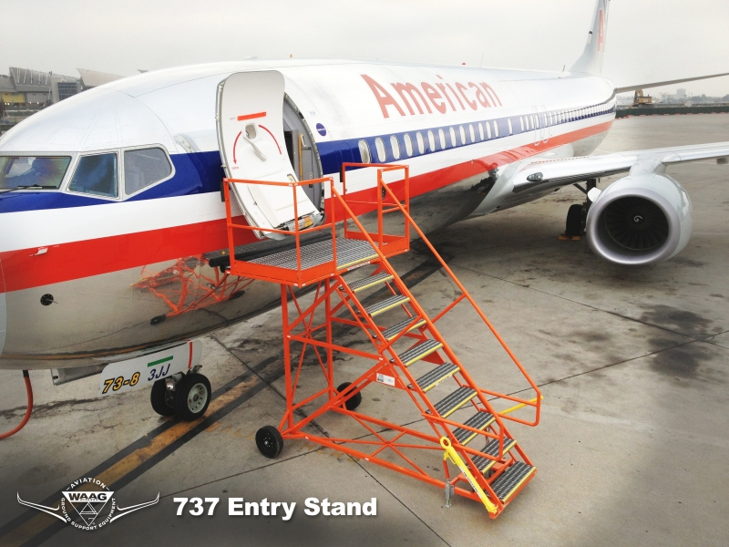 737 – 100″ Entry Stand #20111
