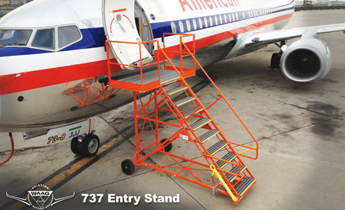 737 Entry Stand