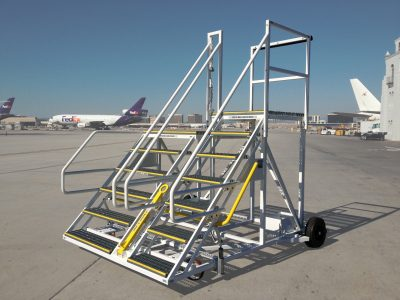 Cargo Deck Access Stands GSE