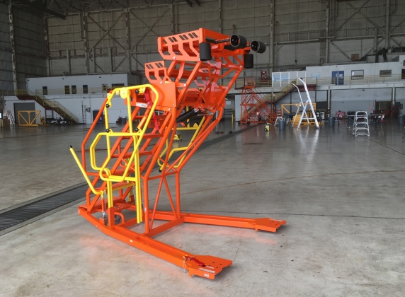 Adjustable Wheel Well platform