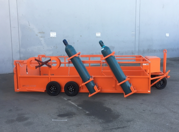 Aircraft Tire Service Carts