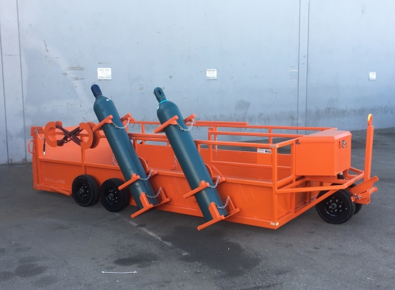 Aircraft Tire and Wheel Service Carts