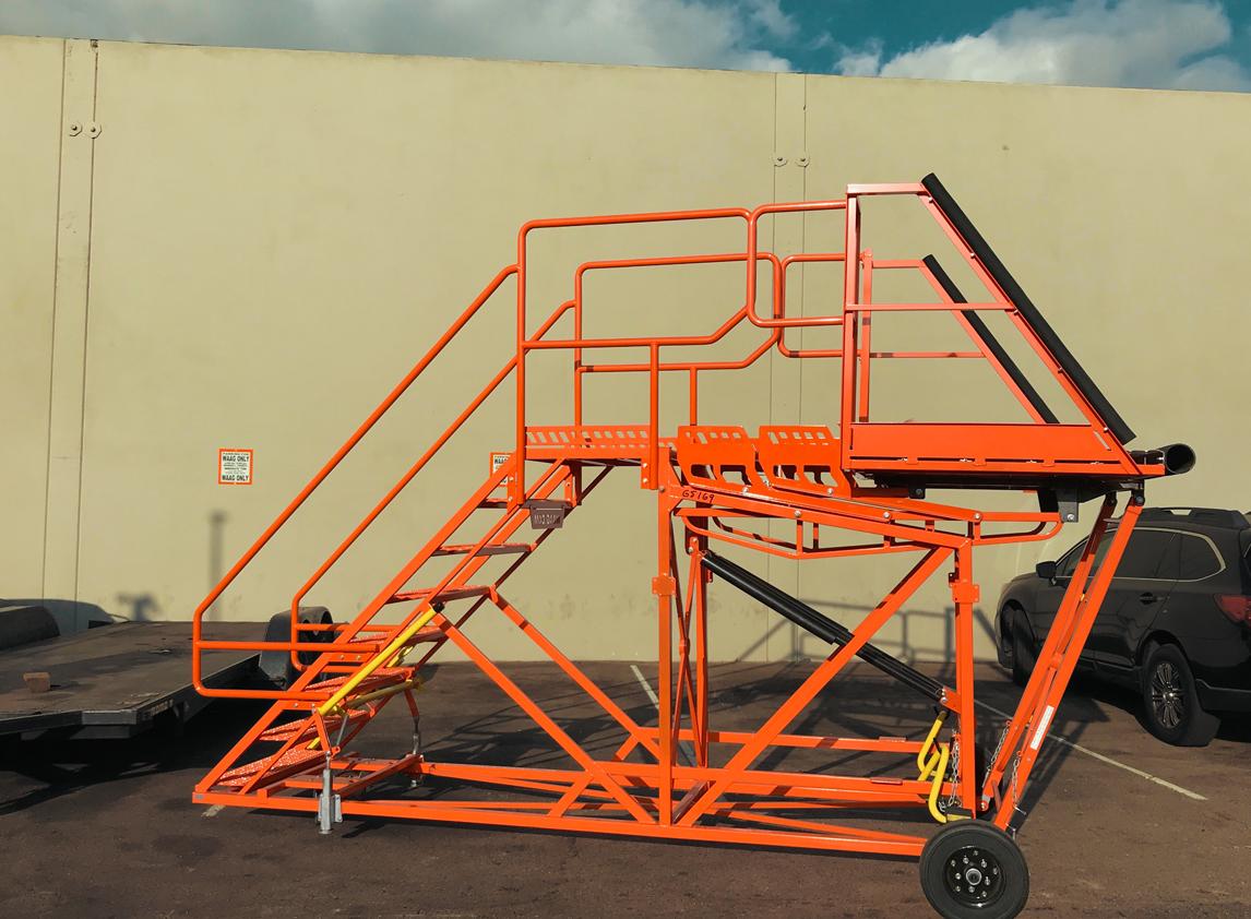 Cargo Access Stair