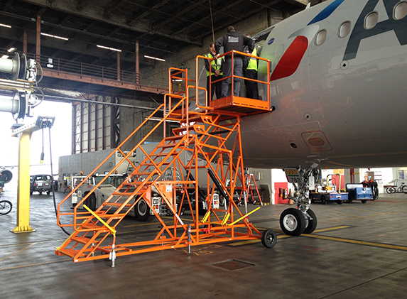 GSE Stair aircraft