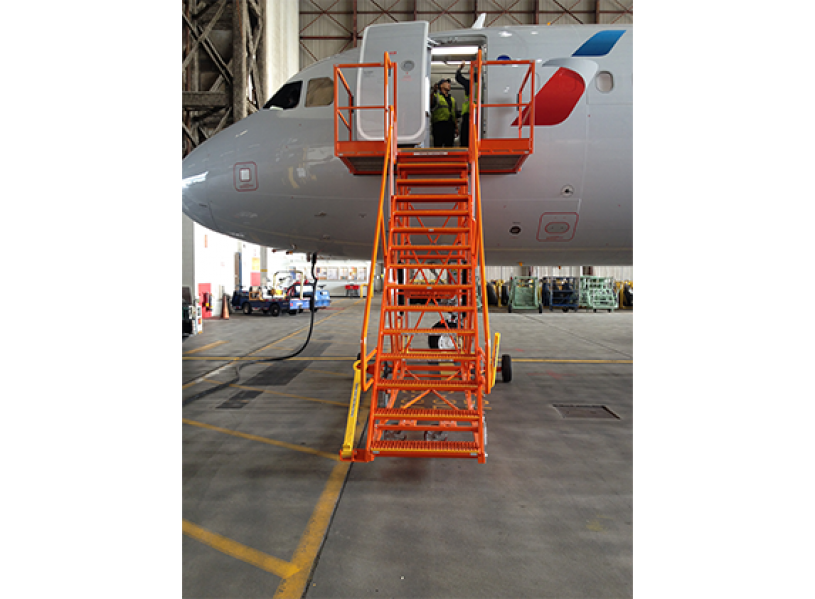 A-320/ 737-Dual Height Entry Stand #50121