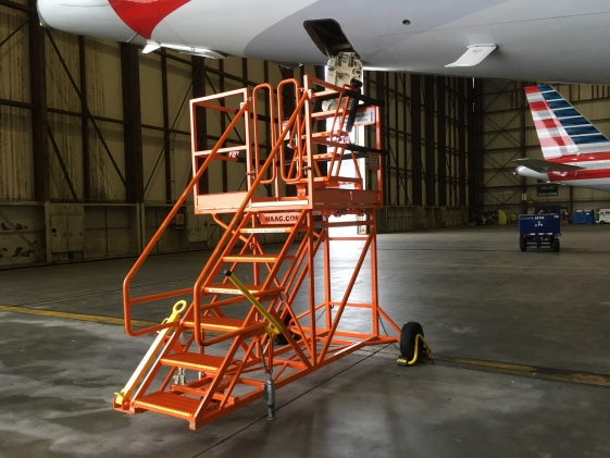 A-320 Fixed Height Aft Accessory Access Stand #20191