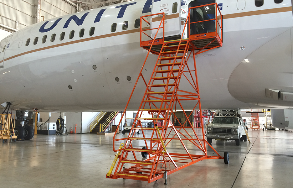 787 Fixed Height Entry Stand #20140
