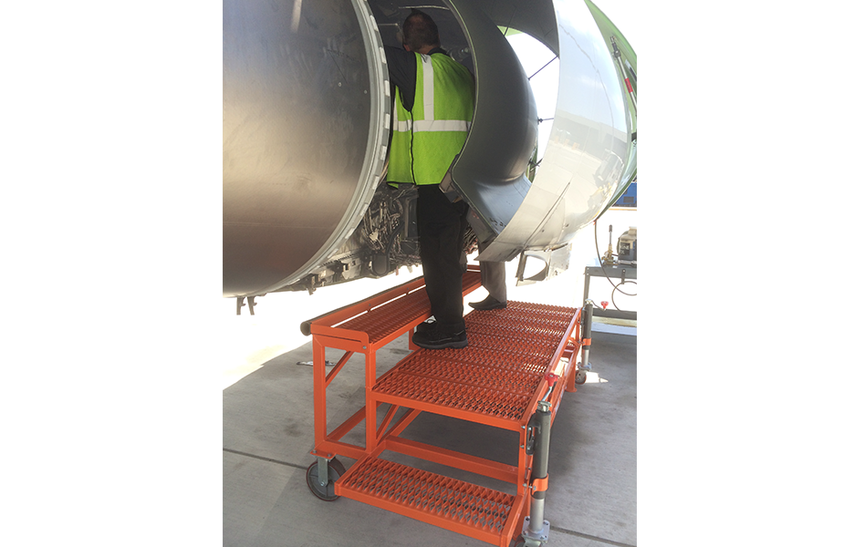 A-320 Engine Access Stand #30124