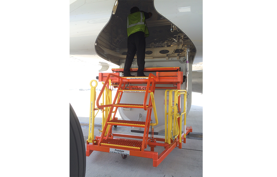 A-320 Wheel Well Access Stand #50123